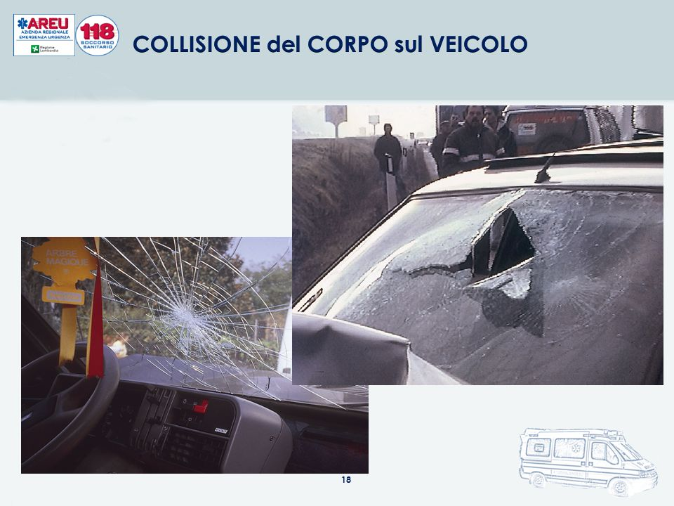 COLLISIONE del CORPO sul VEICOLO