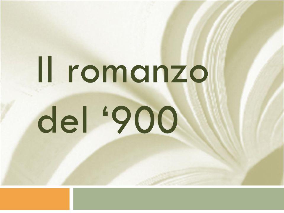 Il romanzo del '900