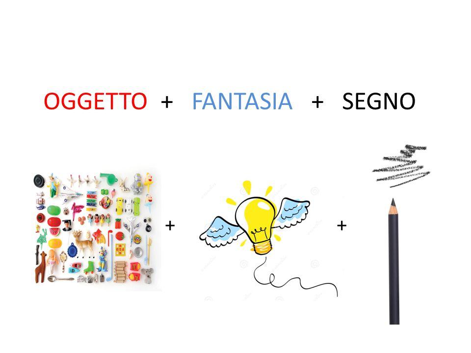 OGGETTO + FANTASIA + SEGNO