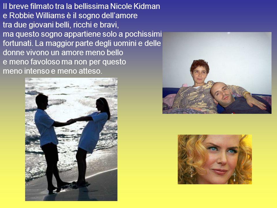 Il breve filmato tra la bellissima Nicole Kidman