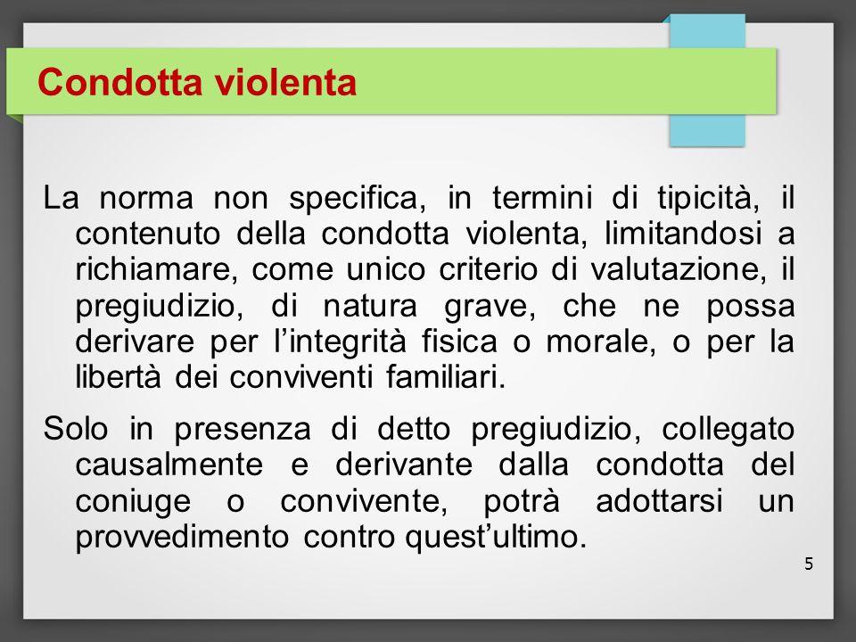 Condotta violenta