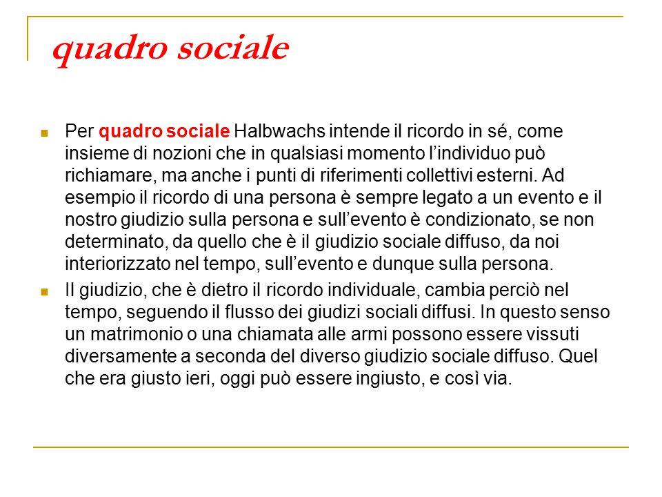 quadro sociale