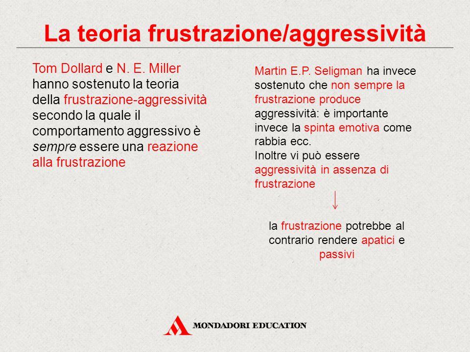 La teoria frustrazione/aggressività