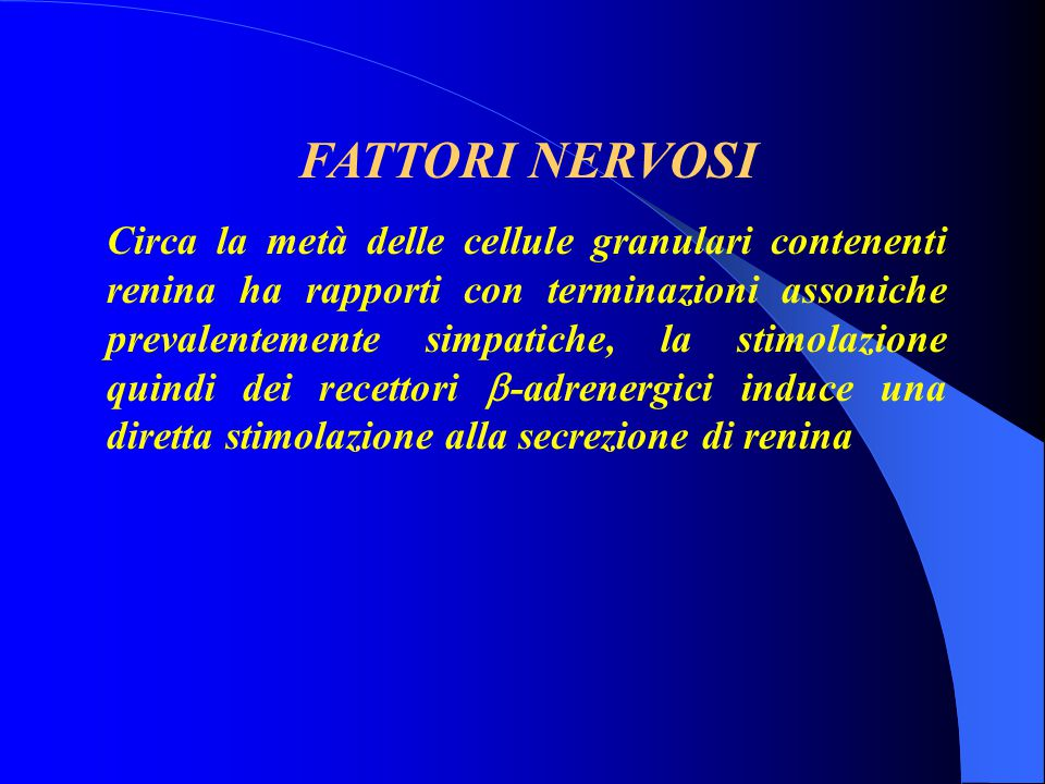 FATTORI NERVOSI