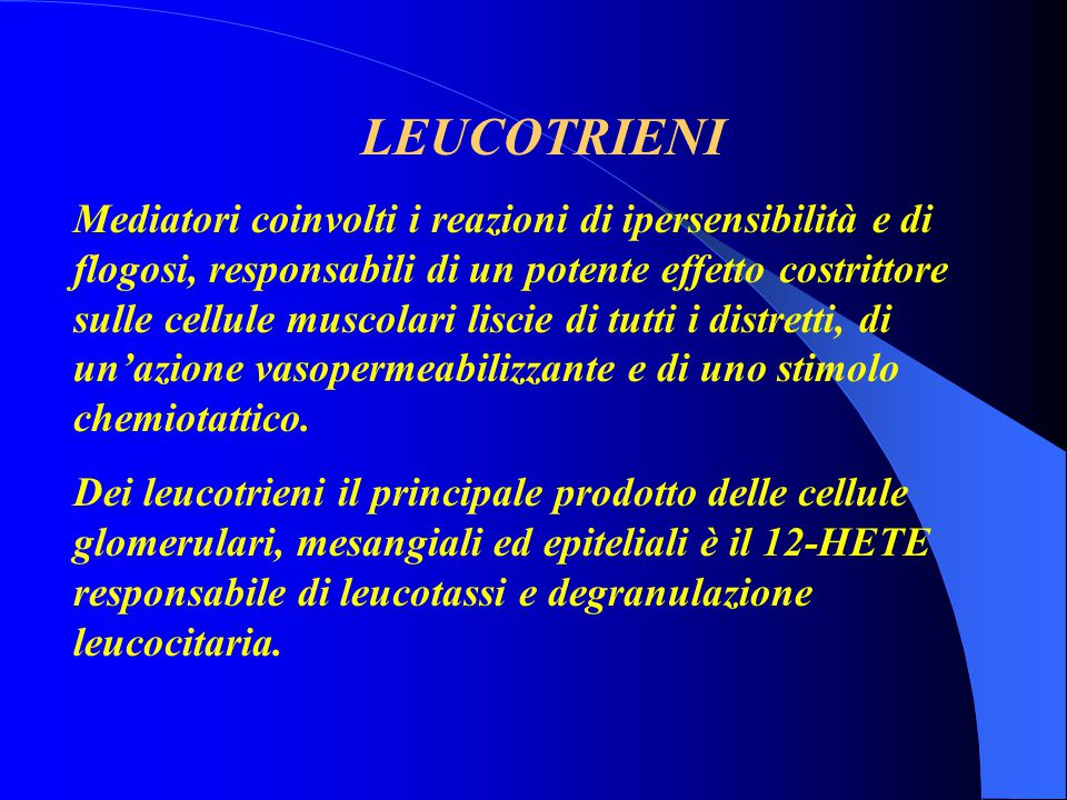 LEUCOTRIENI