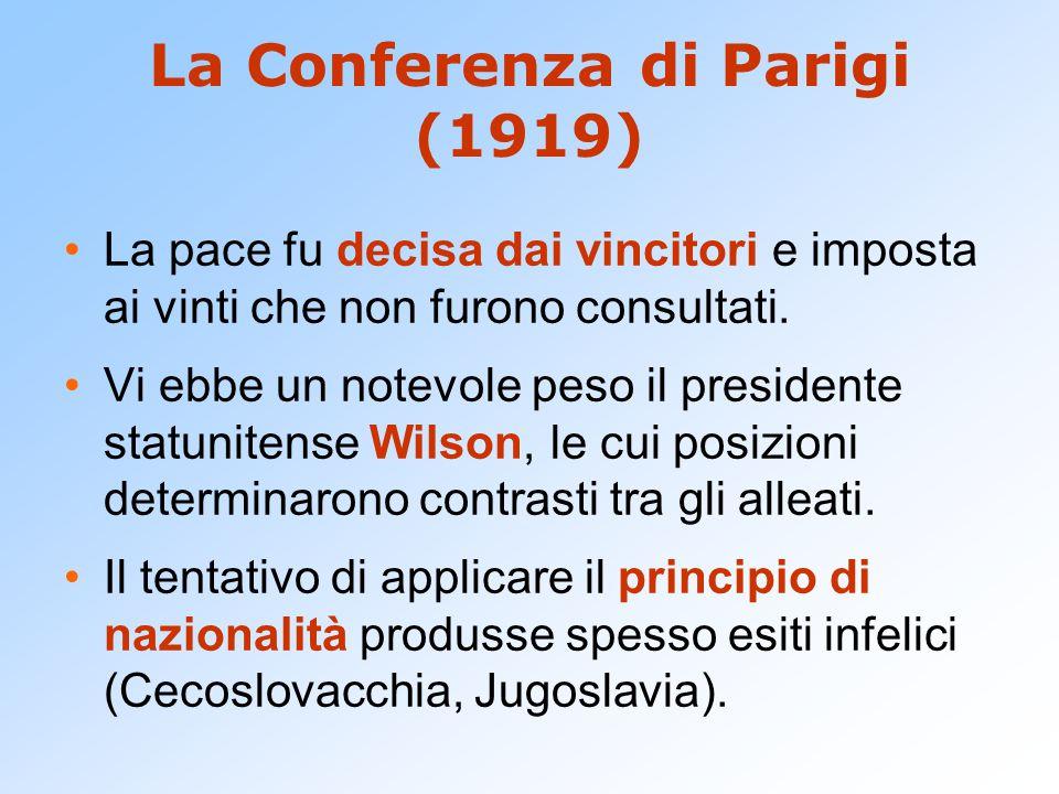 La Conferenza di Parigi (1919)