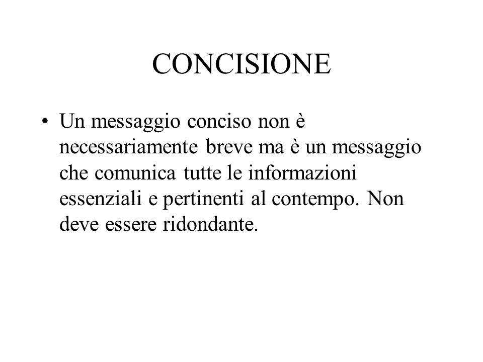 CONCISIONE