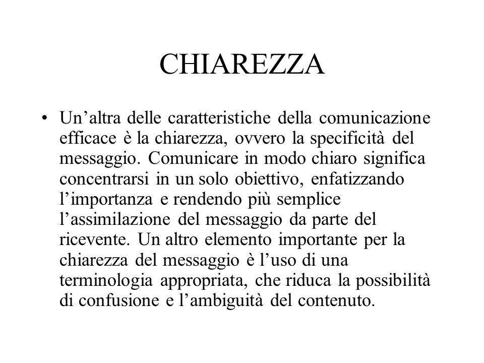 CHIAREZZA