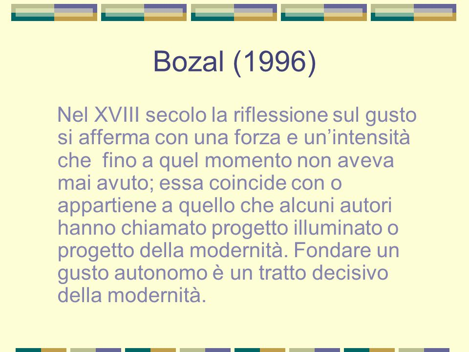 Bozal (1996)