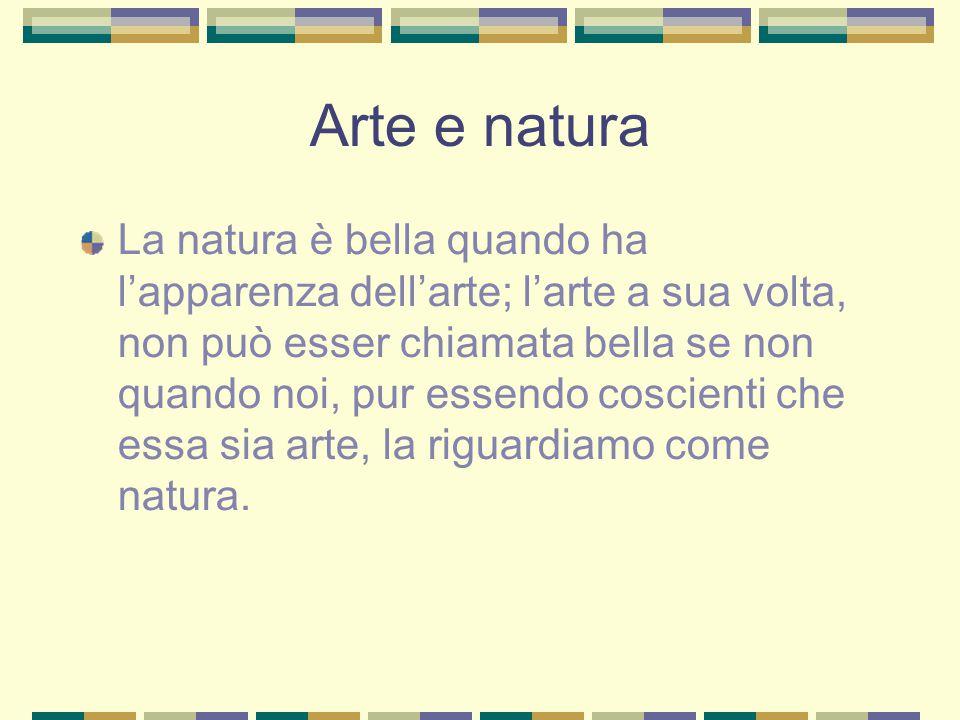 Arte e natura