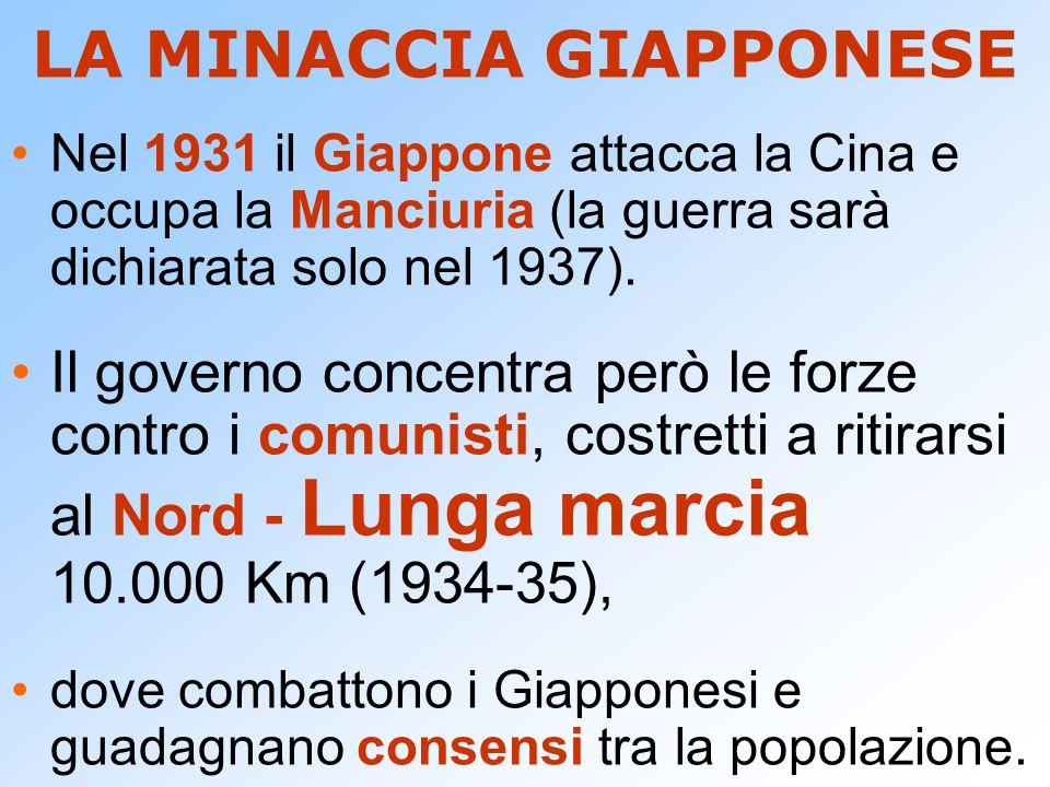 LA MINACCIA GIAPPONESE