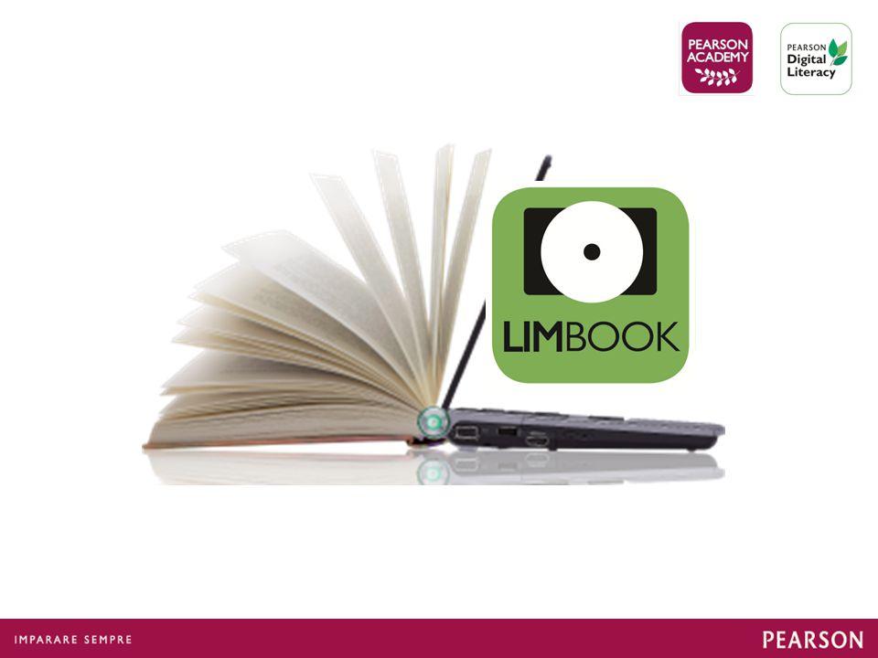 Il LIMbook è la riproduzione del libro di testo in formato digitale sfogliabile, tutto in un unico CD, con alcune funzionalità e materiali in più.