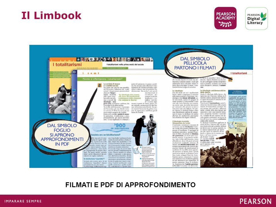 Il Limbook FILMATI E PDF DI APPROFONDIMENTO