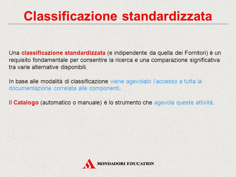 Classificazione standardizzata