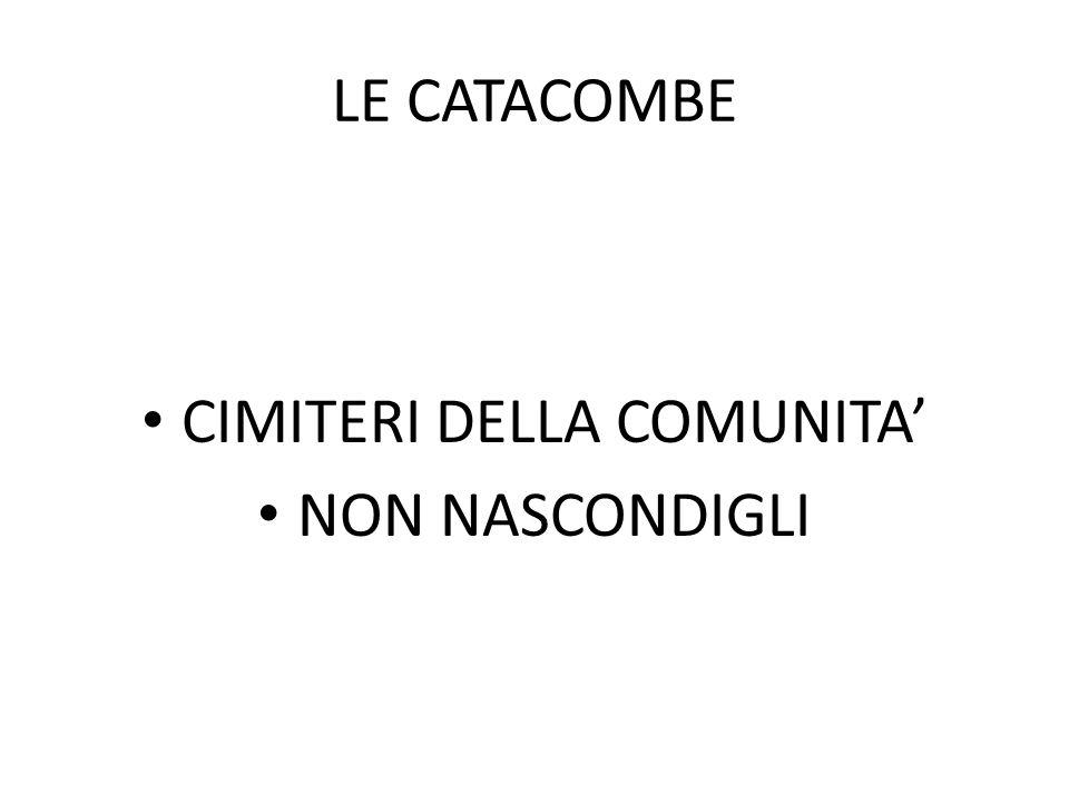 CIMITERI DELLA COMUNITA'