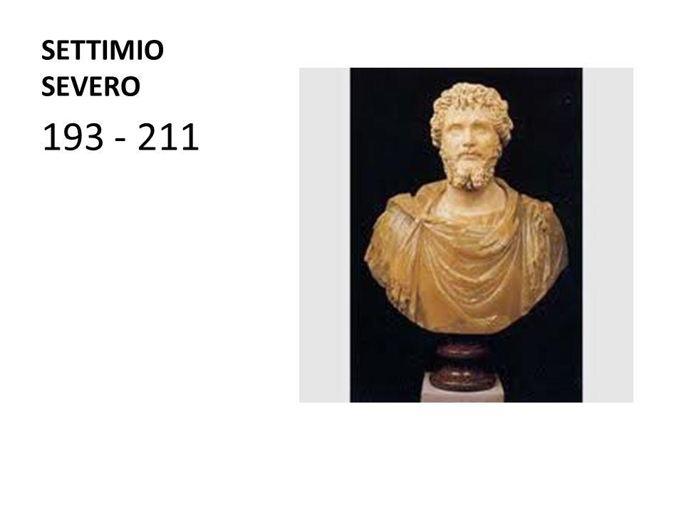 SETTIMIO SEVERO 193 - 211