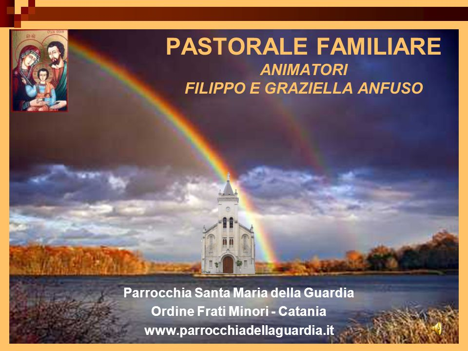 Pastorale familiare Animatori filippo e graziella anfuso