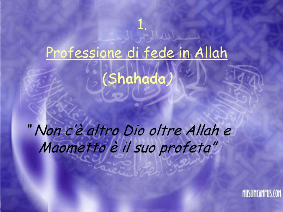 Professione di fede in Allah