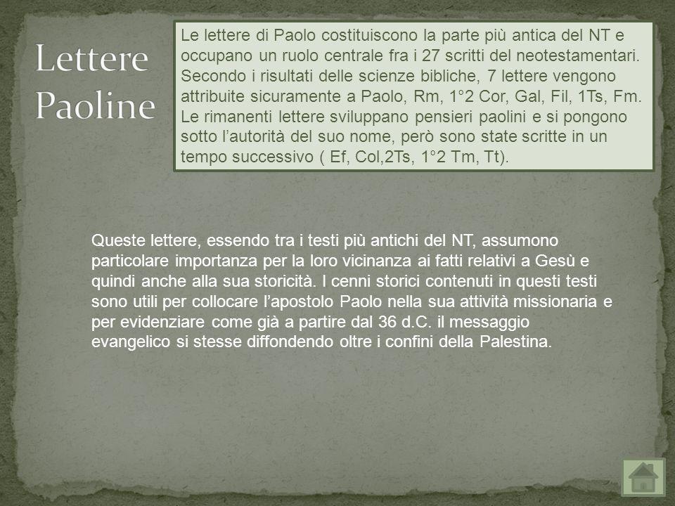 Lettere Paoline