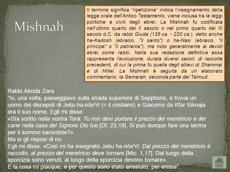 Mishnah Rabbi Aboda Zara