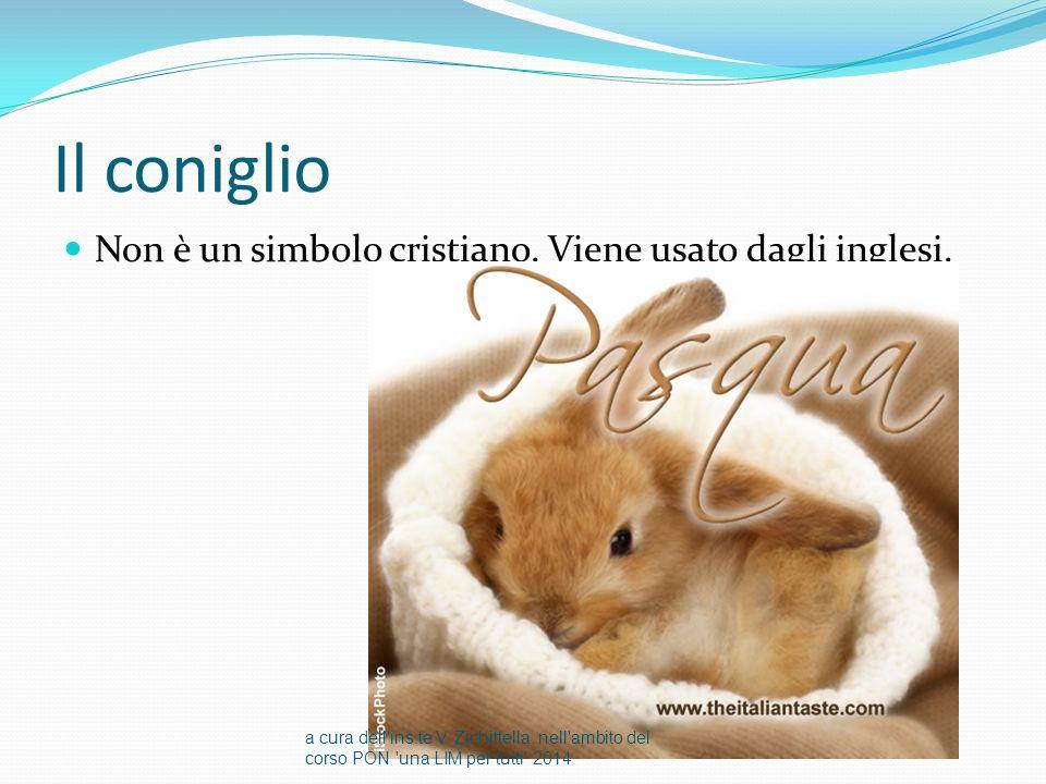Il coniglio Non è un simbolo cristiano. Viene usato dagli inglesi.