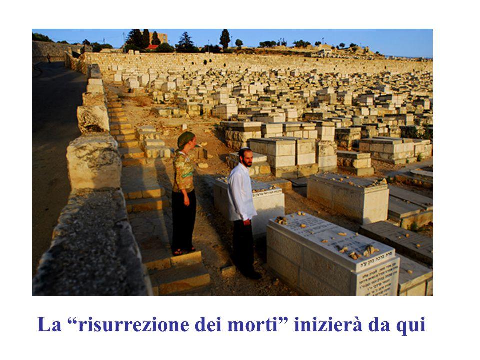 La risurrezione dei morti inizierà da qui