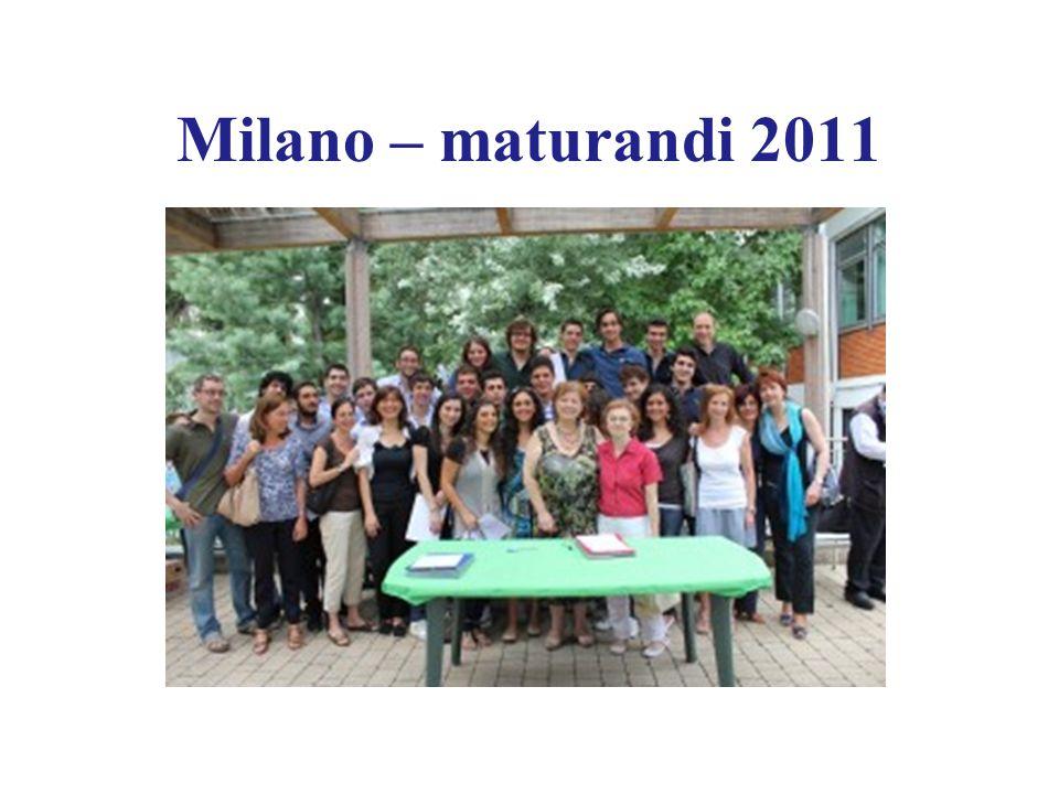 Milano – maturandi 2011