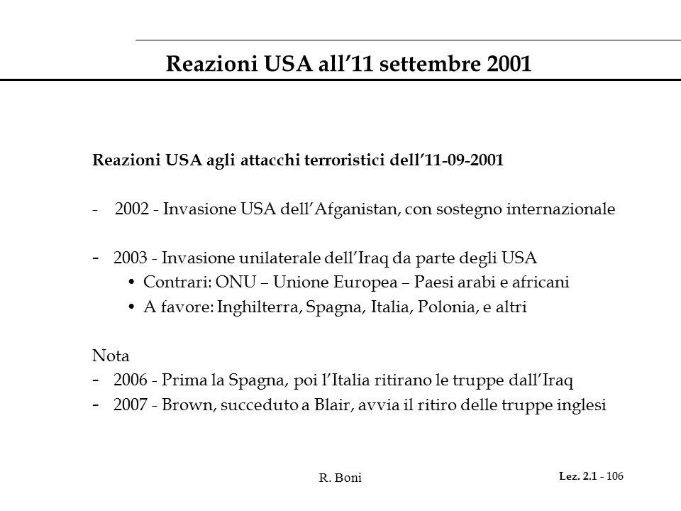 Reazioni USA all'11 settembre 2001