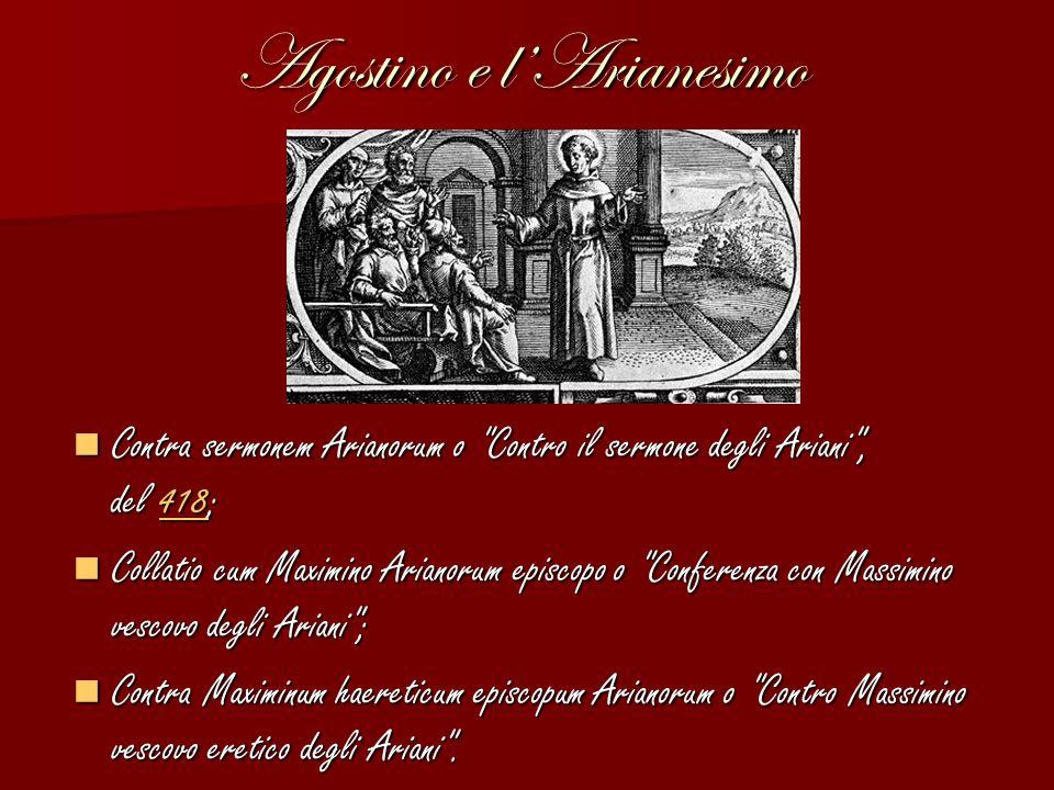Agostino e l'Arianesimo