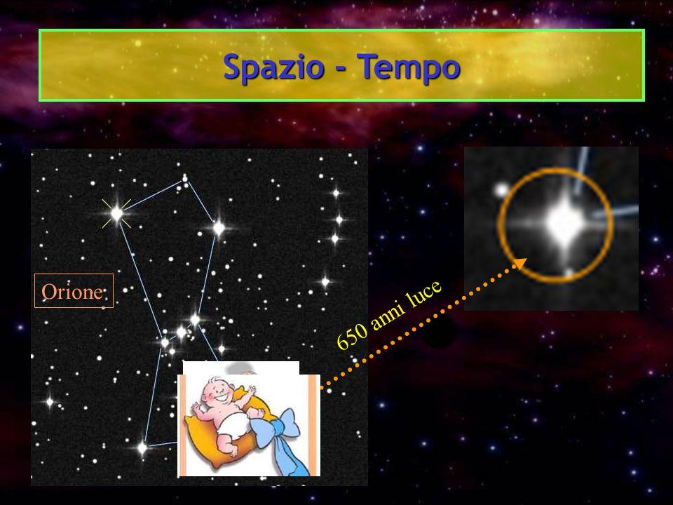 Spazio - Tempo Orione 650 anni luce