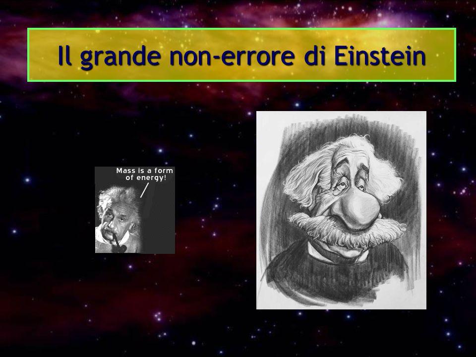 Il grande non-errore di Einstein