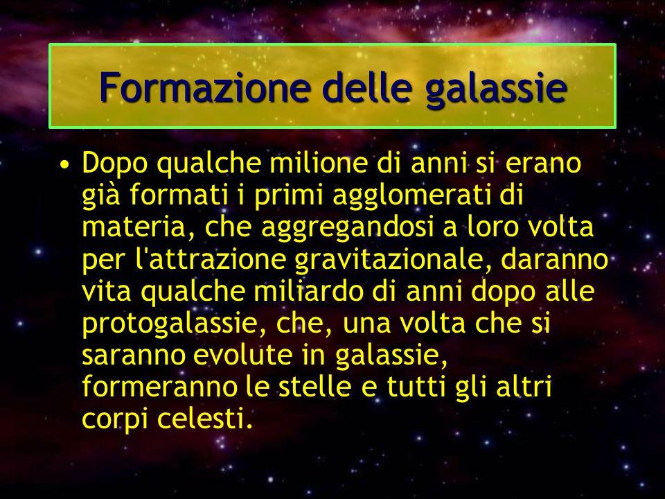 Formazione delle galassie