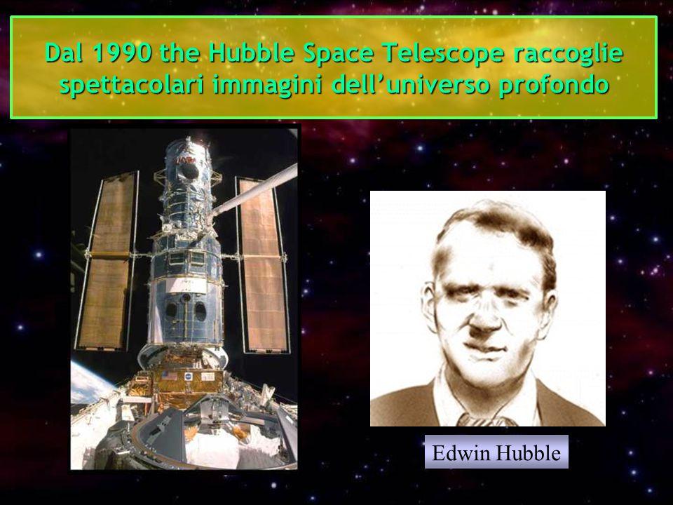Dal 1990 the Hubble Space Telescope raccoglie spettacolari immagini dell'universo profondo