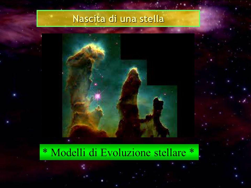 * Modelli di Evoluzione stellare *