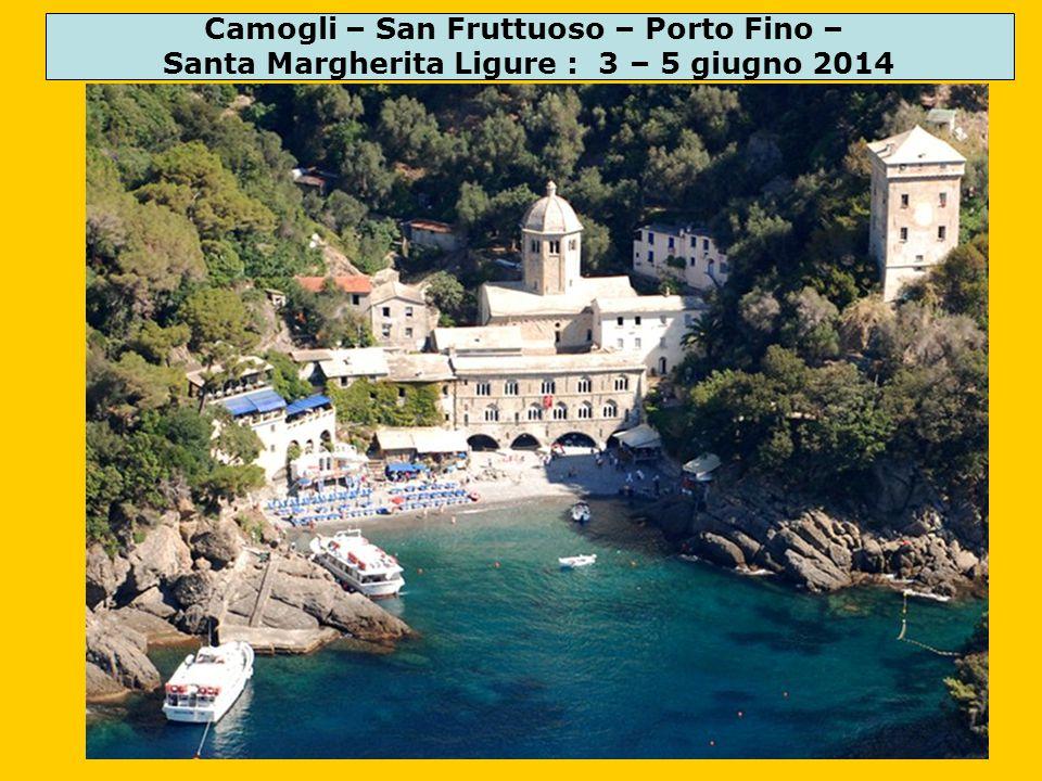 Camogli – San Fruttuoso – Porto Fino –
