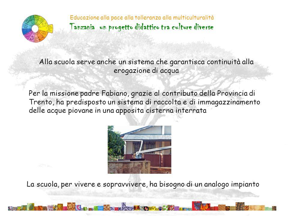 Tanzania un progetto didattico tra culture diverse