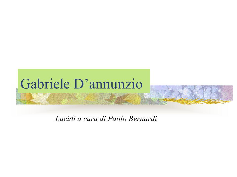 Lucidi a cura di Paolo Bernardi