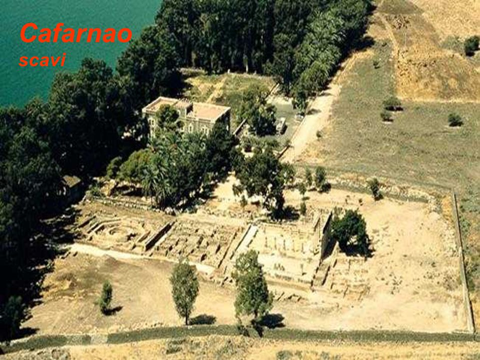Cafarnao scavi