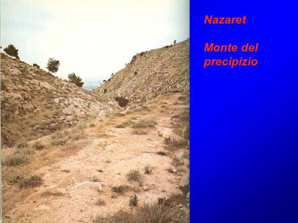 Nazaret Monte del precipizio