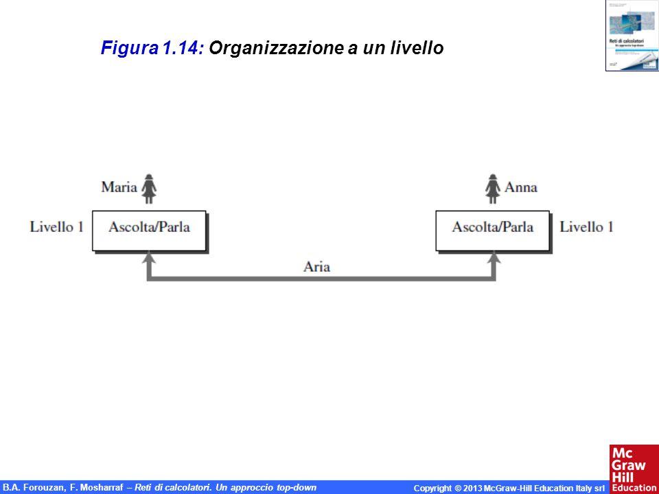 Figura 1.14: Organizzazione a un livello