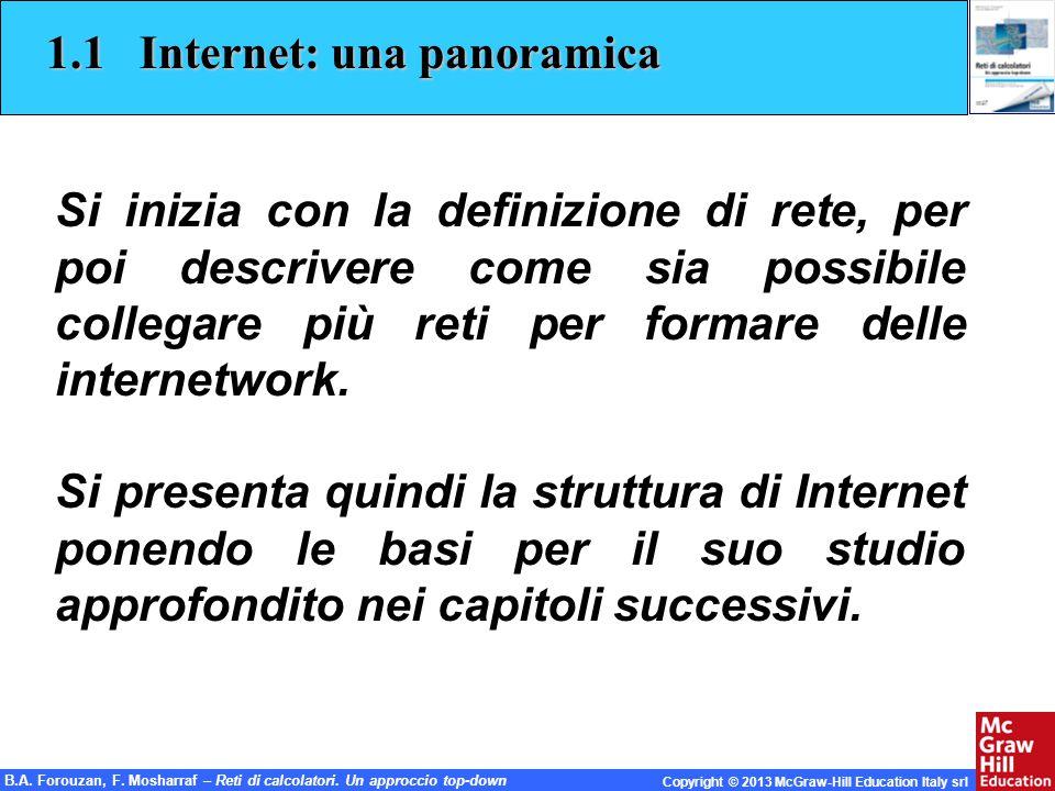 1.1 Internet: una panoramica