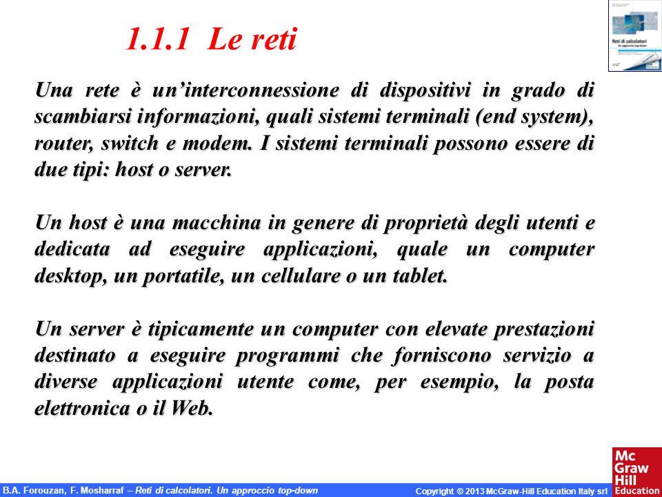 1.1.1 Le reti