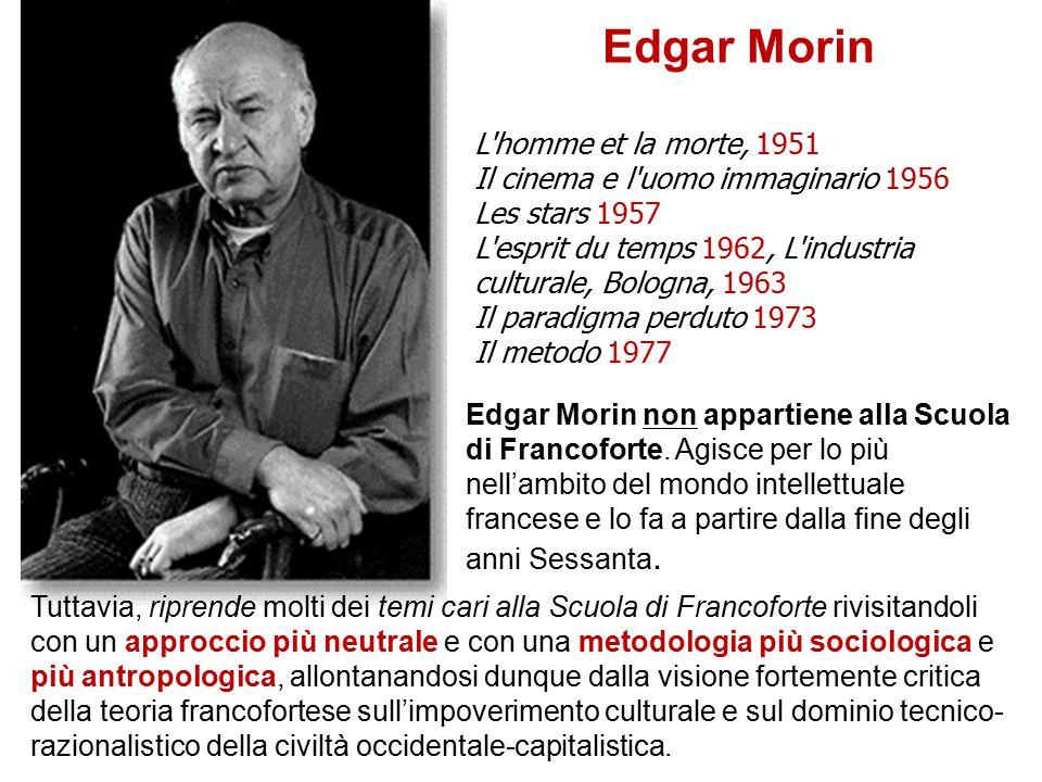 Edgar Morin L homme et la morte, 1951