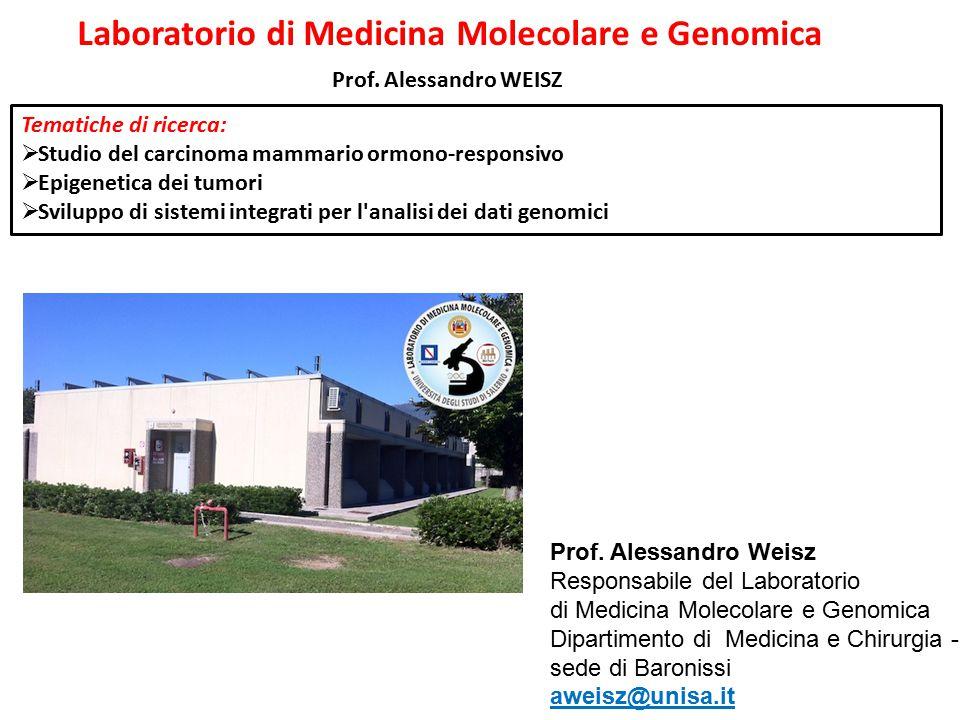 Laboratorio di Medicina Molecolare e Genomica