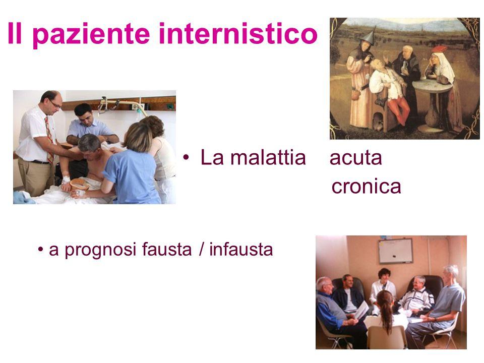 Il paziente internistico