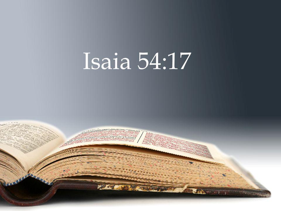 Isaia 54:17
