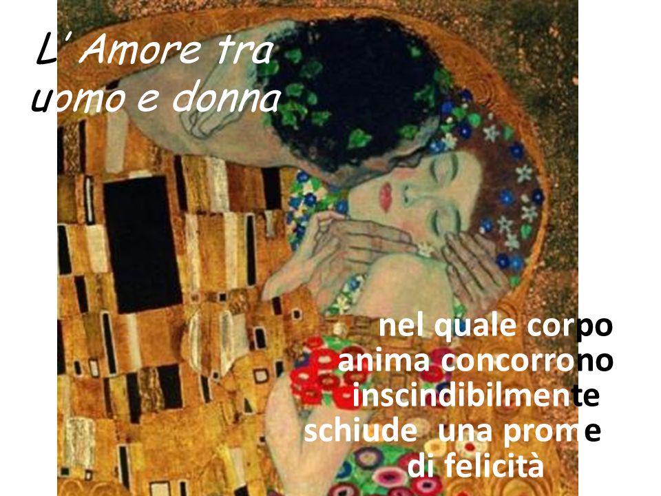 L' Amore tra uomo e donna