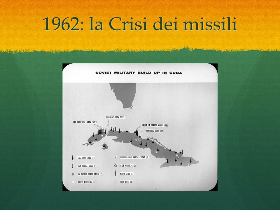 1962: la Crisi dei missili