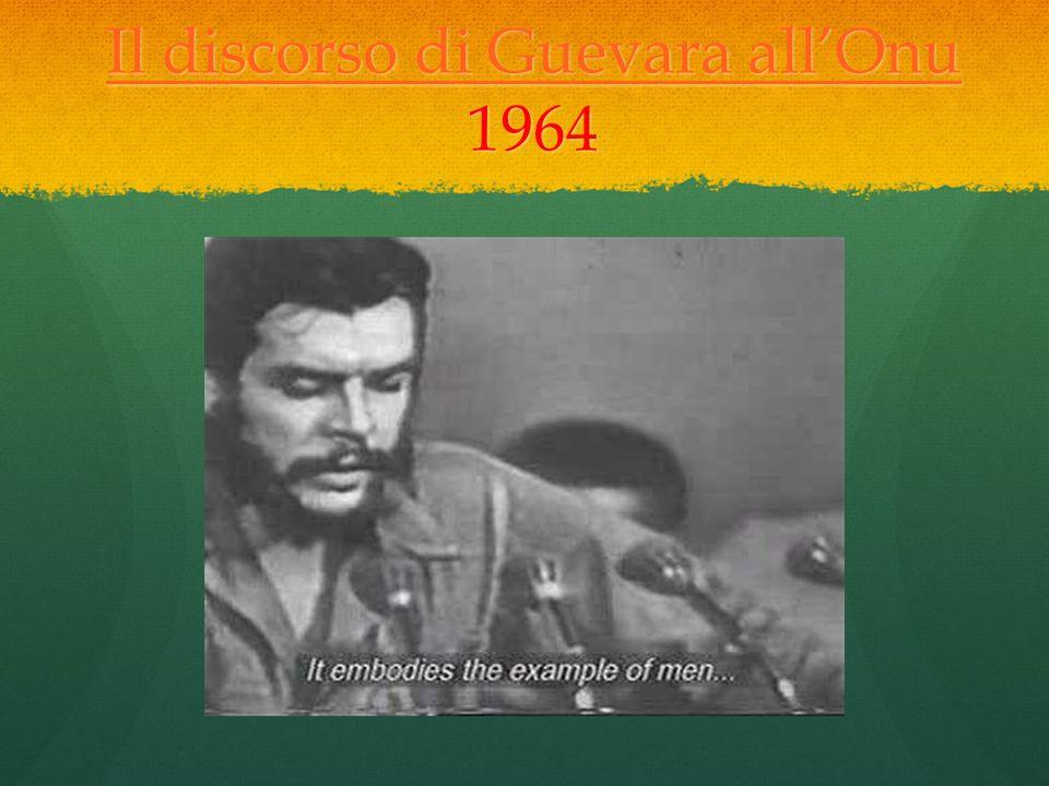 Il discorso di Guevara all'Onu 1964