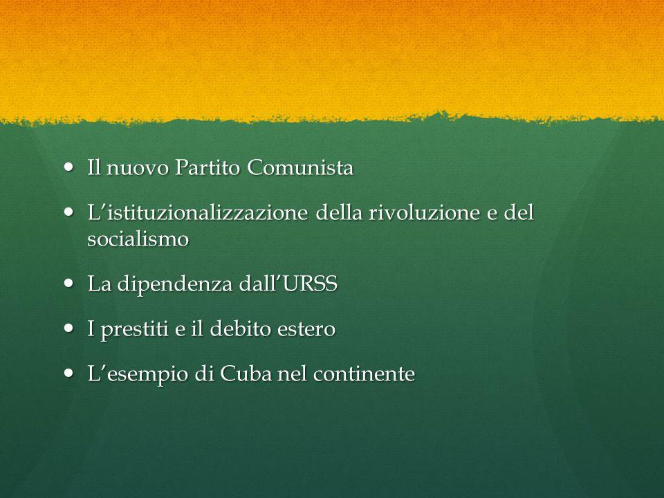 Il nuovo Partito Comunista